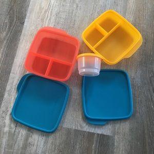 Brand new Tupperware kids lunch set